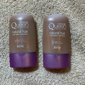 Covergirl queen collection natural hue Q720 x2 new